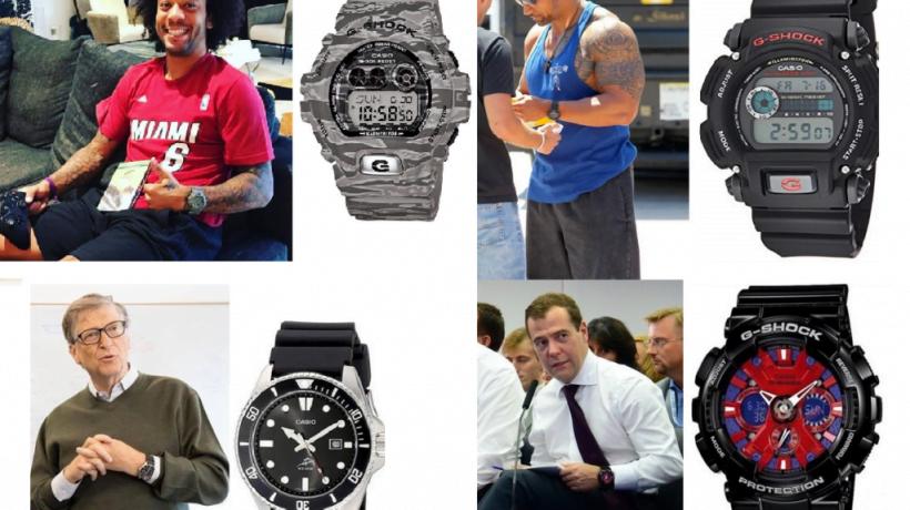Las marcas de relojes que llevan los famosos