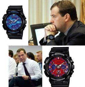 reloj deportivo El político
