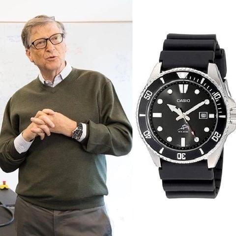 El reloj de Bill Gates