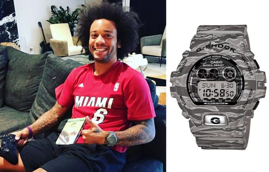 relojes El futbolista Marcelo Vieira