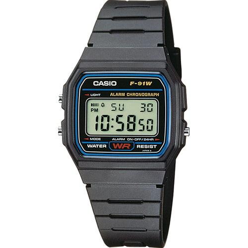 Los 5 mejores relojes baratos Casio F-91W-1YER