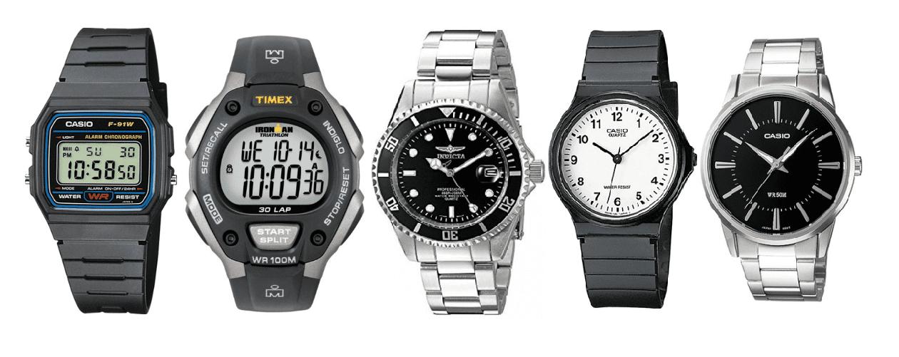 Top 5 relojes baratos