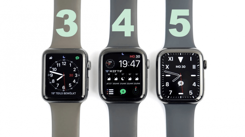 iwatch Series 3 series 4 series 5