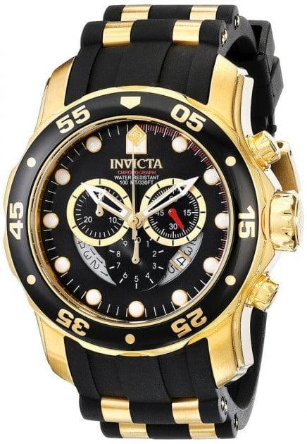 Mejores Relojes deportivo Invicta 6981 oro