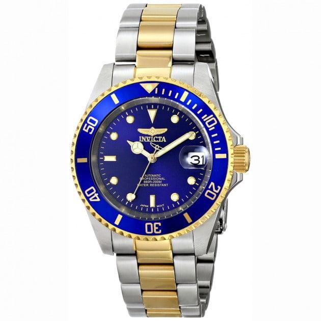 Mejores relojes Invicta 8928OB plata-oro