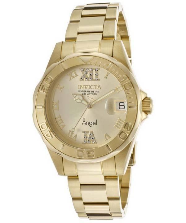 Mejores relojes Invicta de mujer 14397 oro (números romanos)