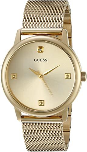 Mejores dorado relojes de mujer Guess: U0280G3