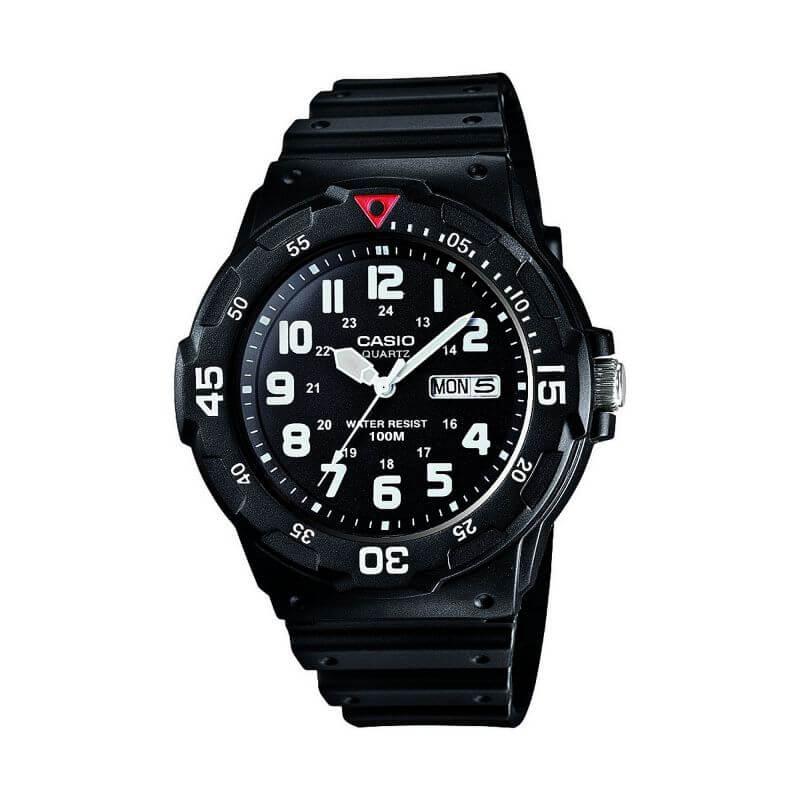 casio mrw-200h-1b2vef mejor reloj deportivo analógico para hombre / mujer