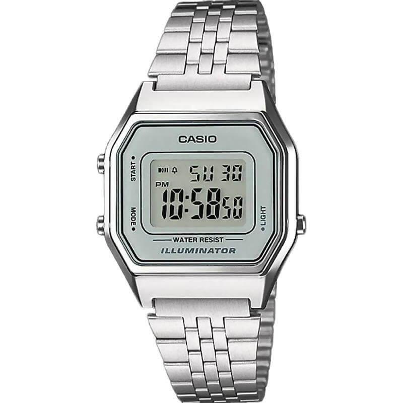 casio la680we plata Reloj para Mujer